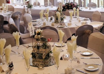 Wedding Breakfast at Bingley St Ives Golf Club